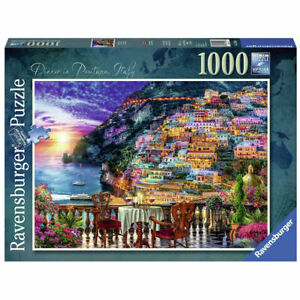 Ravensburger: Dinner in Positano, Italy 1000 Piece Puzzle *BRAND NEW*