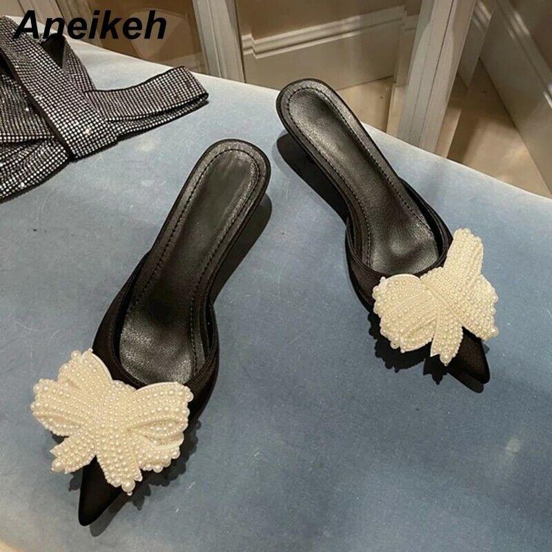 Brand new women's kitten heel with pearl embellishment size 6