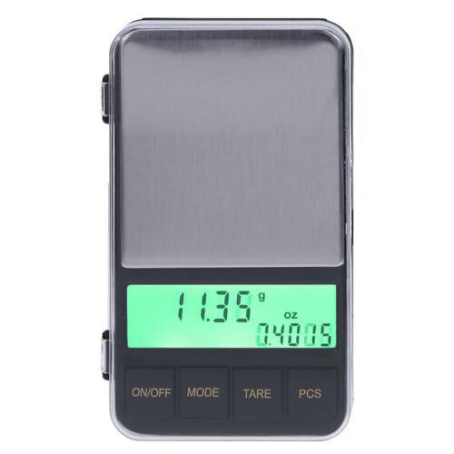 0,01g LCD-Hintergrundbeleuchtung Elektronische FG#1 Everpert Taschenwaage,500g