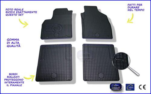 Tappetini auto in Gomma su misura Set 4 pz Tappeti Auto Lancia Ypsilon  2011/>