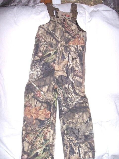 5ebe254e93ea0 Boys Medium Mossy Oak Country Camo Bibs Coveralls Bib Overalls Insulated  Hunting