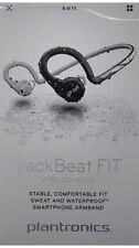 Plantronics BackBeat FIT Black&Silver Wireless Ear Hook Headphones Music / Talk