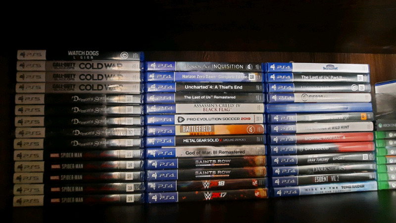 PS5, PS4 & Xbox One Games (Read Advert For Prices)