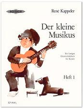 Der kleine Musikus 1 - Gitarrenschule, Kappeler Rene - EP8549A - 9790014068264
