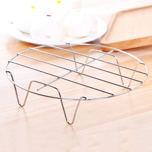 Kitchen Stainless Steel Steamer Rack Pot Steaming Tray Stand Cooking Accessories
