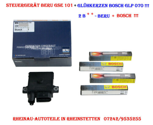 div Dispositivo de control//glühzeit Beru gse101+4 doble función Bosch glp070-BMW 1 e81, e87