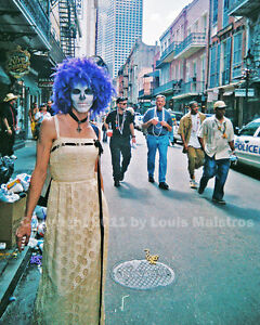 First-Mardi-Gras-Post-Katrina-NEW-ORLEANS-2006-Photo-SIGNED-by-Louis-Maistros