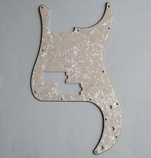 P Bass Pickguard PB Scratch Plate Aged Pearl Fits Precision Bass Guitar