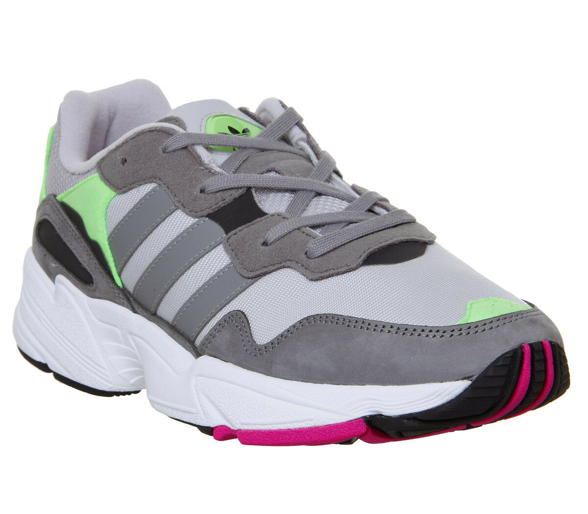 Adidas Yung 96 Trainers grau Two grau Three Shock Rosa