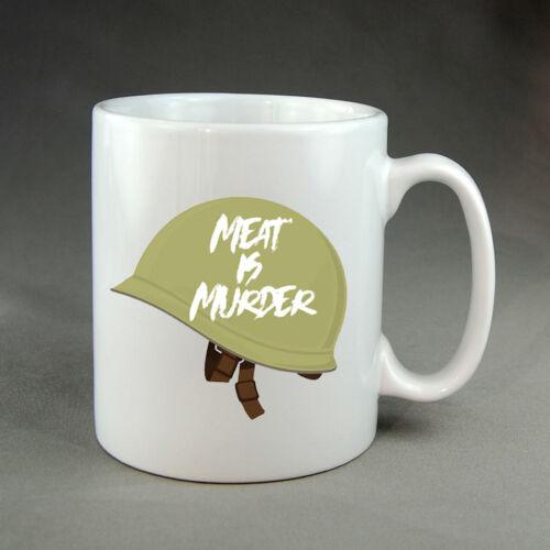 The Smiths Style Meat is Murder Mug Cadeau VEGETARIAN VEGAN Musique Indie Rock