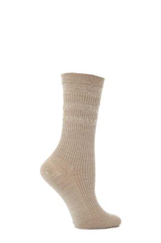 Ladies 1 Pair HJ Hall Original Wool Softop Socks