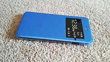 IPhone 7 Case Plastic Book Case for Apple Wallet View Window Flip Case Cover 4.7
