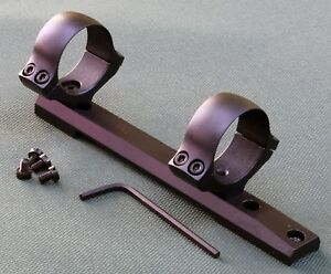 Remington-700-rifle-scope-mounts-Short-Action-30mm-rings-1-piece-base-STEEL