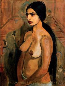 ece6d2323d94 Nude Woman Standing 8.5x11