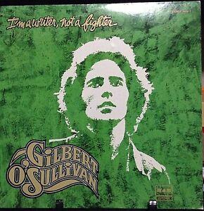 GILBERT O'SULLIVAN I'm a Writer, Not a Fighter Released 1977 Vinyl  USA
