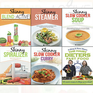 Hairy dieters fast foodskinny slow cooker recipe book 6 books image is loading hairy dieters fast food skinny slow cooker recipe forumfinder Gallery