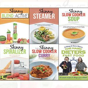 Hairy dieters fast foodskinny slow cooker recipe book 6 books image is loading hairy dieters fast food skinny slow cooker recipe forumfinder Images
