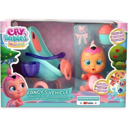 Cry Babies Veicolo Fancy Con Luci IMC Toys 97957