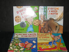Laura Numeroff If You Give A Mouse Baby Daycare Preschool  CHILDRENS BOOK LOT