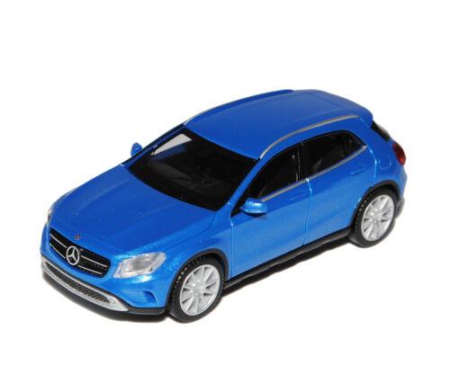 Mercedes-benz GLA-clase SUV azul x156 a partir de 2013 h0 1//87 Herpa modelo coche con Oda