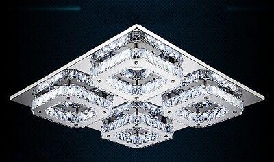 Modern Luxury Crystal LED Ceiling Light Fixture Pendant Lamp Hallway Lighting C1