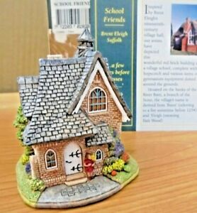 LILLIPUT-LANE-L2838-SCHOOL-FRIENDS-BRENT-ELEIGH-SUFFOLK-WITH-BOX-amp-DEEDS
