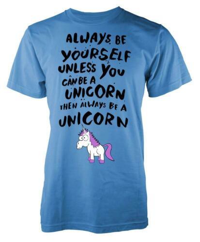 Alway Be Yourself Unless Your A Unicorn Adult T Shirt
