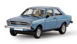 BREKINA-28203-Audi-80-S-bermudagrun-von-Drummer-1-87