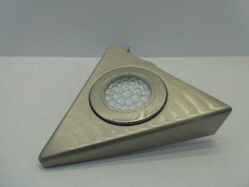 Culina Laghetto 1.5 W DEL Triangle Cabinet Lumière froide//blanc chaud nickel satiné