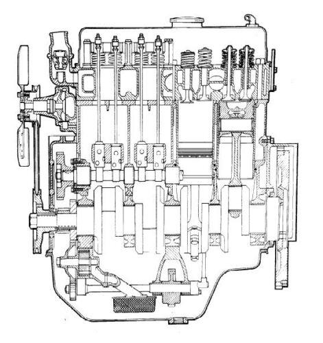 Leyland Tractor 38TD /& 4//98NT Motor Manual De Servicio