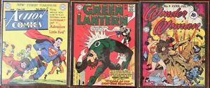 Action-Comics-Cover-Poster-Art-128-No-5-No-33-DC-Comics-Asgard-Press-11x14