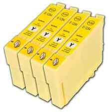 4 Yellow T1294 non-OEM Ink Cartridge For Epson Stylus SX430W SX435W SX438W