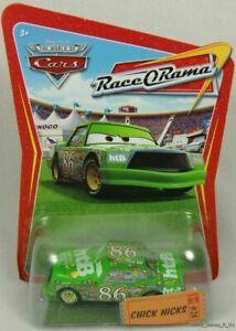 Disney Pixar CARS Race O Rama Diecast Chick Hicks #24 W/Ticket