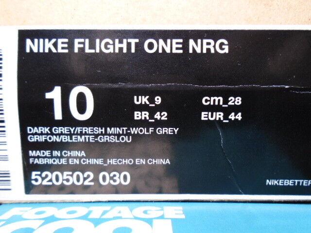 Nike Air FLIGHT ONE 1 NRG NRG NRG PENNY GALAXY ALL-STAR verde MINT GLOW 520502-030 DS 10 419800