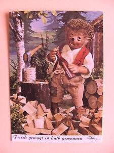 Postkarte-AK-Mecki-Nr-483-Frisch-gewagt-ist-halb-gewonnen