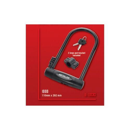 """/""""Metalok SUPERMAX u-lock XL Manille D Lock 292 x 110 mm"""