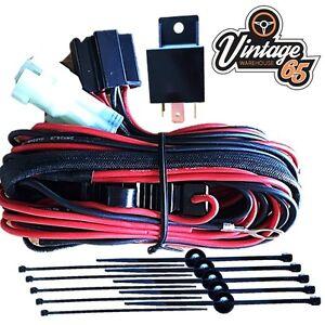 bmw mini r50 r53 genuine wipac original spot light fog lamp wiring rh ebay com bmw mini stereo wiring diagram bmw mini cooper wiring diagram