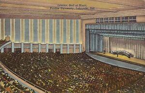 Lafayette-INDIANA-Purdue-University-Hall-of-Music-1940-concert