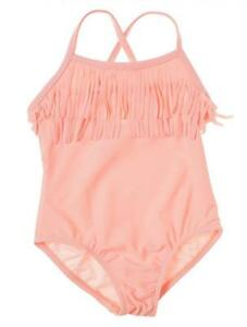 7ae29a78065c6 Carter's Girls One Piece Salmon Fringed Swimsuit Size 2T 3T 4T 5 | eBay