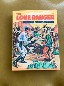 VINTAGE-1968-BIG-LITTLE-BOOK-034-THE-LONE-RANGER-OUTWITS-CRAZY-COUGAR-034-MEDICINE-MAN