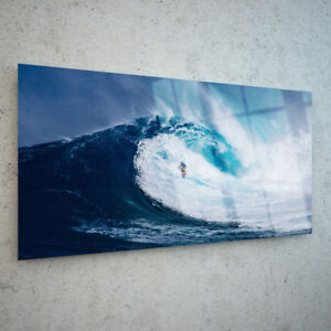 Glass-Picture-Wall-Art-Canvas-Digital-Print-ANY-SIZE-Surfing-Wave-Sea-p163429