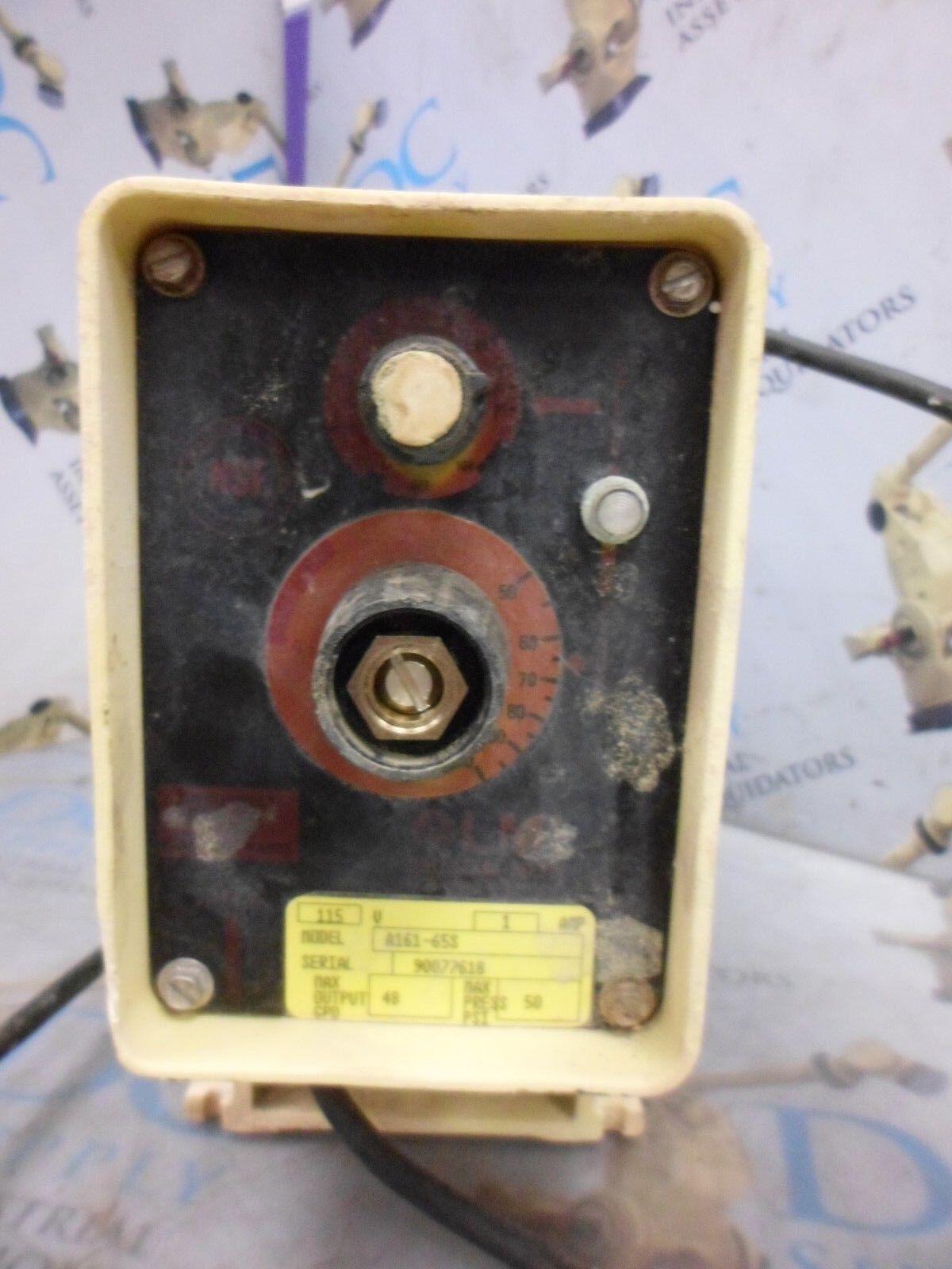 LMI milton roy A161-65S 115 V 1 a 50 Psi Bomba 48 Gpd Bomba Psi Dosificadora 5d7ebe