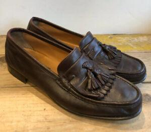 Salvatorre Farragamo tasseled leather loafer sz 10.5