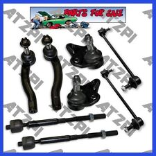 8pcs New Steering Kit Tie Rod End Lower Ball joint Set fits 04-09 Toyota Prius