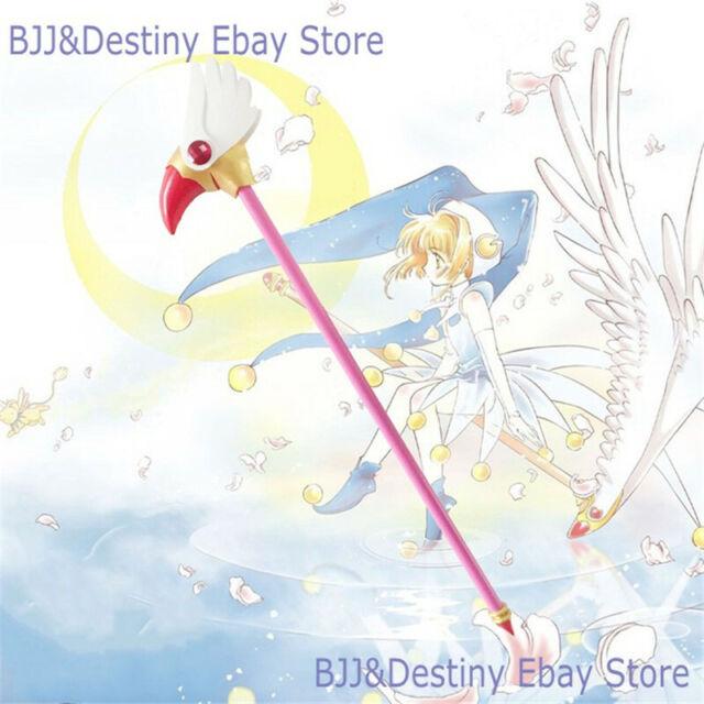 Anime Card Captor Sakura Kinomoto Bird Cane Magic Wand Stick Cosplay Prop New V.