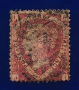 1870-SG51-1-d-Rose-Red-Plate-3-G6-1-HI-London-Good-Used-Cat-75-cpqe