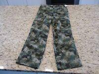 Cherokee Boys Boys Cargo Camo Pants Size 5 7 10h 12 14 16