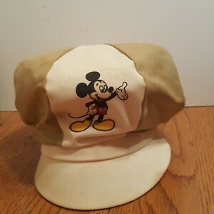 Vintage-1970-039-s-Mickey-Mouse-Fitted-Hat-Cap-Adult-Size-Walt-Disney-Productions