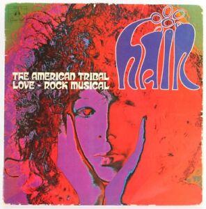Various-Hair-The-American-Tribal-Love-Rock-Musical-Vinyl-Record-USED