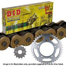 Kawasaki ZRX 1100 C1-4 D1 1998 DID Gold X-Ring Chain and Sprocket Kit ZRX1100